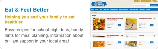 Eat Better Feel Better is all about helping you and your family to eat healthier