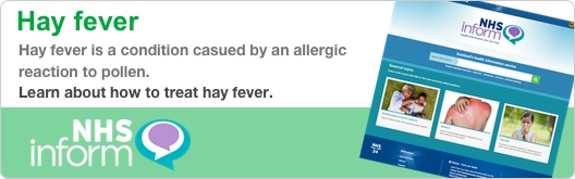 Hay fever is a condition casued by an allergic reaction to pollen. Learn about how to treat hay fever.