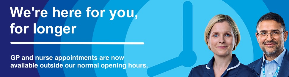Improving access to general practice: Appointments now available outside our normal working hours