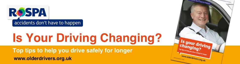 Is your driving changing? Top tips to help you drive safely for longer.