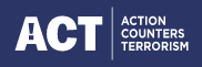 ACT. Action Counters Terrorism logo