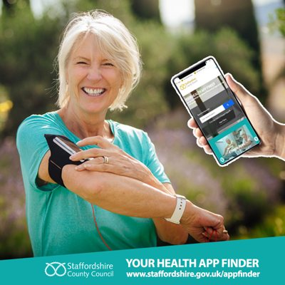 Staffordshire Health App Library